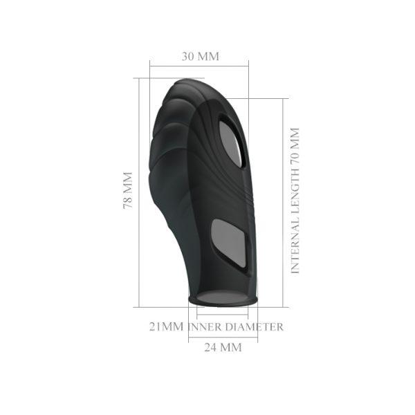 ВИБРОНАСАДКА на палец LICH BI-014752