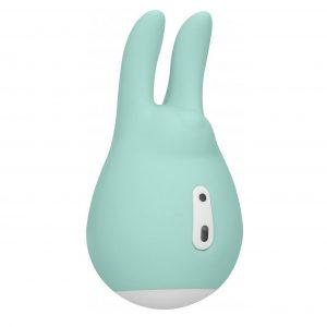 Клиторальный вибратор из силикона Love Bunny 9.4 см, LOV019GRN
