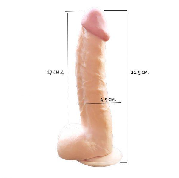 ФАЛЛОИМЕТАТОР Jack's penis. MS-003111